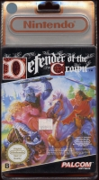 defender of the crown sous blister recto nintendo nes