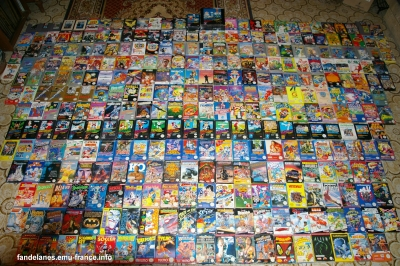 collection jeux nes pal B