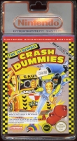 THE INCREDIBLE CRASH DUMMIES nintendo nes