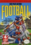 PLAY ACTION FOOTBALL nintendo nes